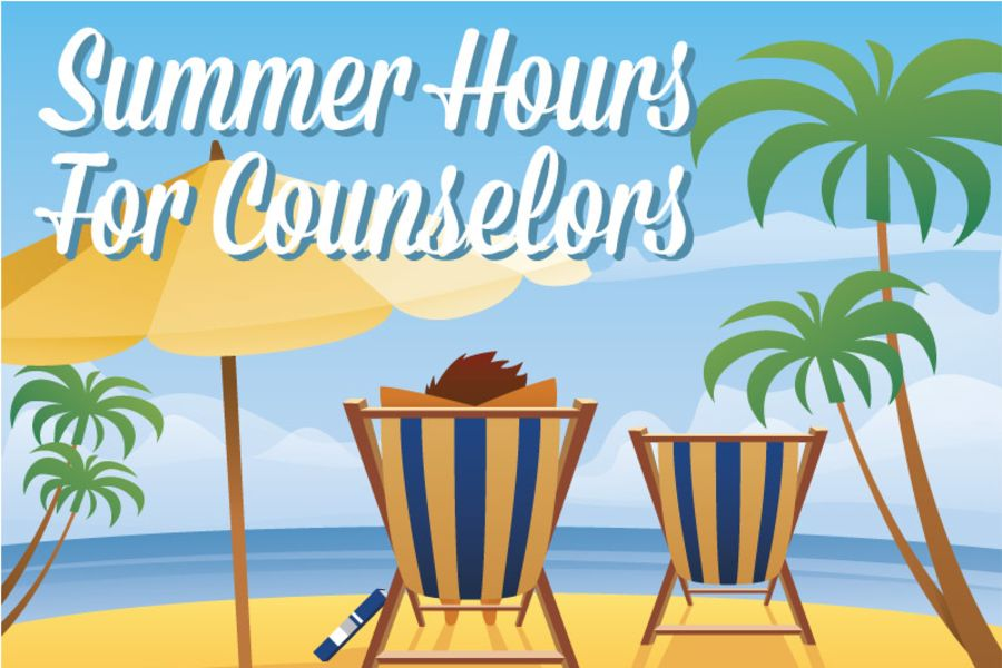 Summer Hours for Counselors