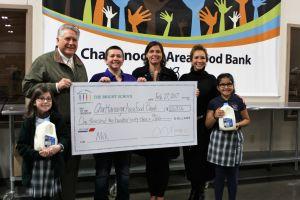 Food Bank Check Presentation 2017