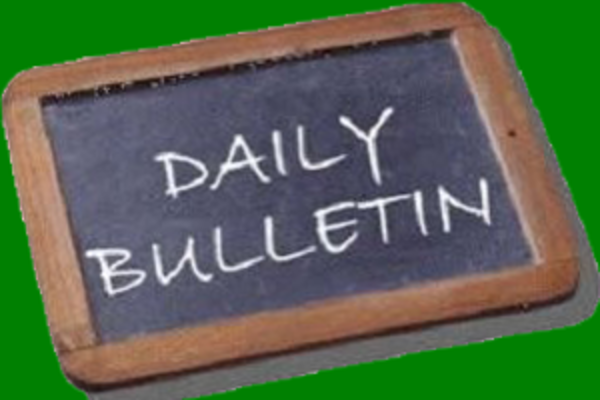 SHS Daily Bulletin