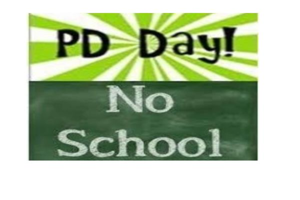 No School for PD Day - Monday, September 23rd