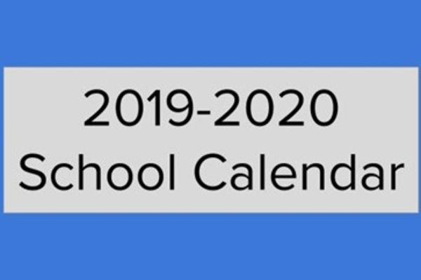 Click here to view 2019-2020 Calendar