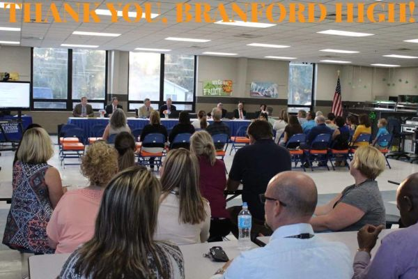 Branford High Host Board Meeting