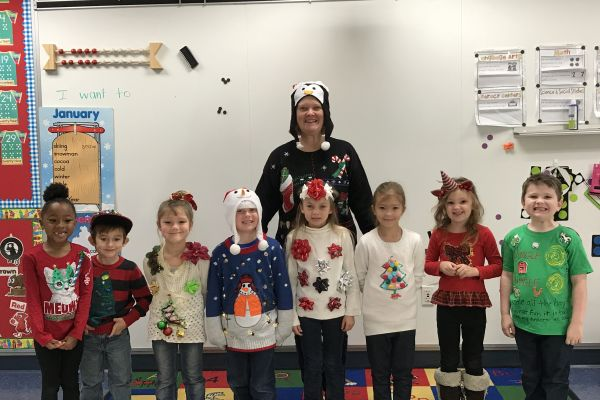 BES Rocks Ugly Christmas Sweaters