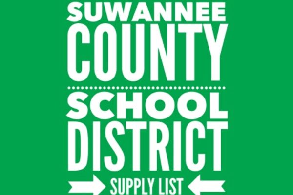 Supply List Set for Suwannee County Schools
