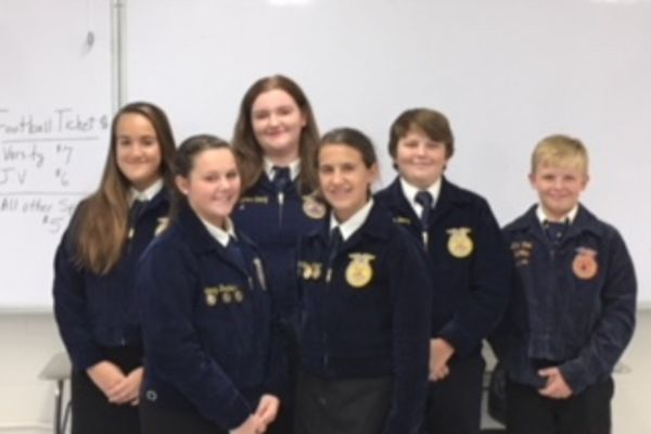 Branford Middle FFA Announces Officers
