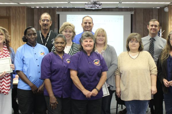 School Board Recognizes Emergency Shelter Workers