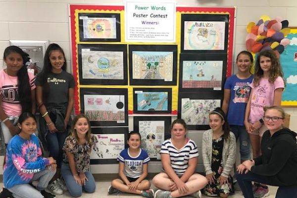 SIS Announces Power Words Poster Contest Winners