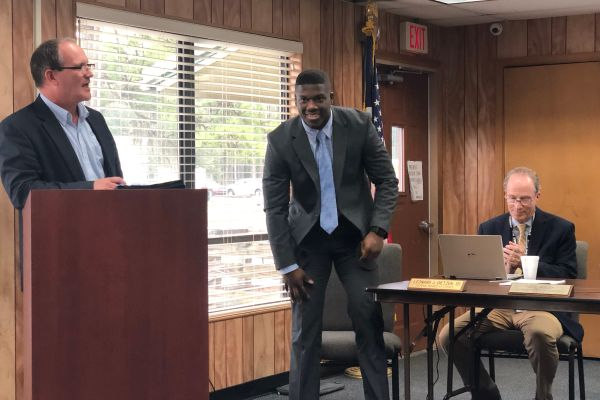 SHS Student Ambassador Experiences First Board Meeting
