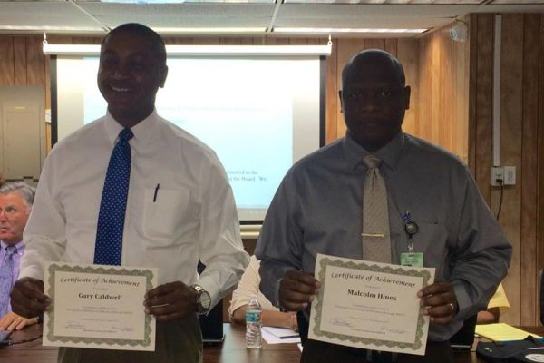 Local Principals Recognized at School Board Meeting