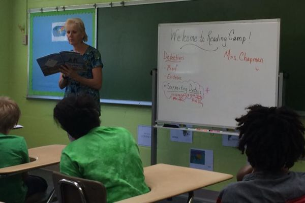 Suwannee Intermediate Completes Reading Assessment