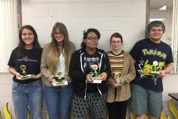 SHS Art Students Compete at Regional Art Festival