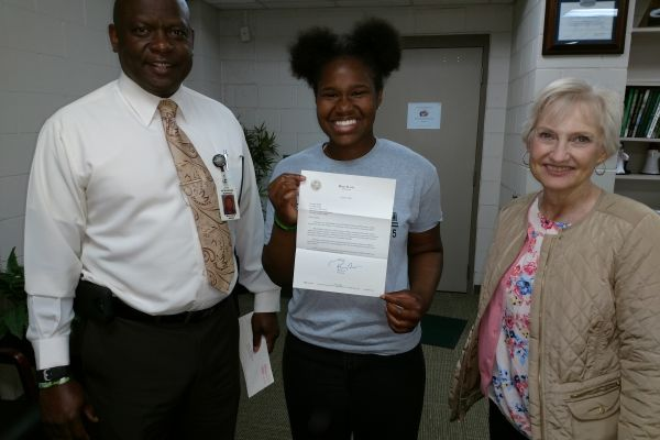 SHS Student Receives Letter from Governor of Florida