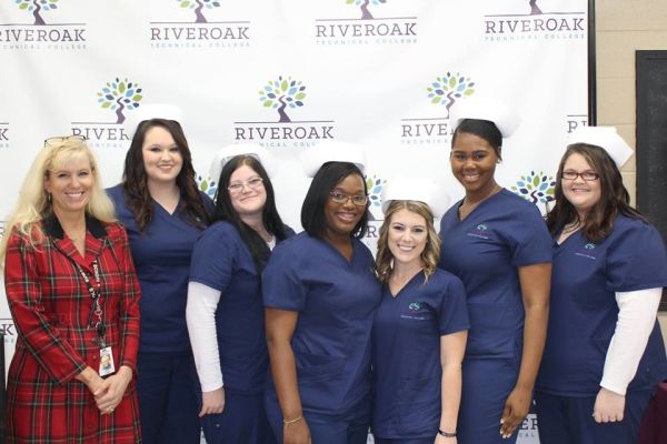 Practical Nursing Students Capping Ceremony