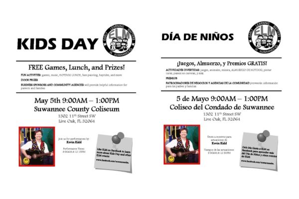KIDS DAY May 5th 9:00am-1:00pm