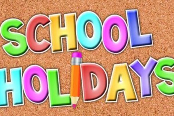 School Holidays - No school