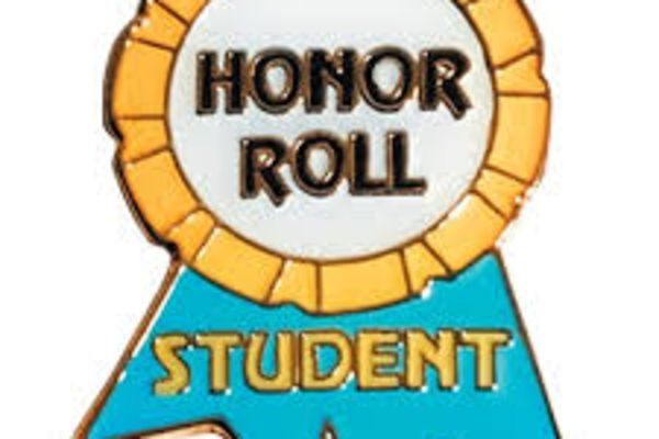 Honor Roll Recognition THURSDAY DURING LUNCHES