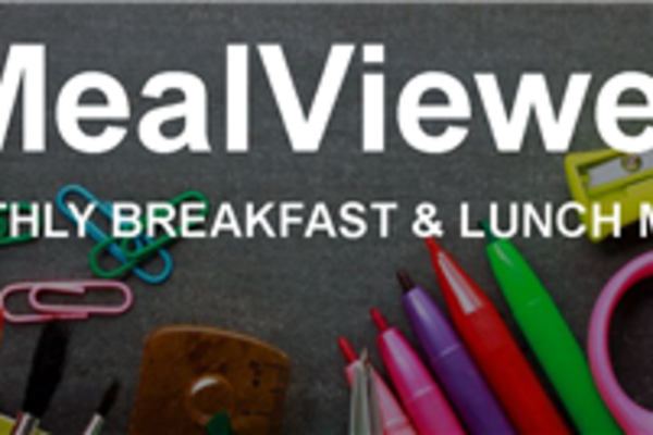 Daily Meals Shows on MealViewer