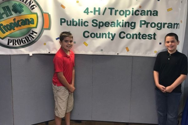 SIS Tropicana Speech WINNERS place in District