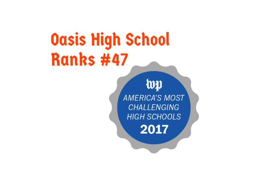 Oasis Moves Up in Rankings
