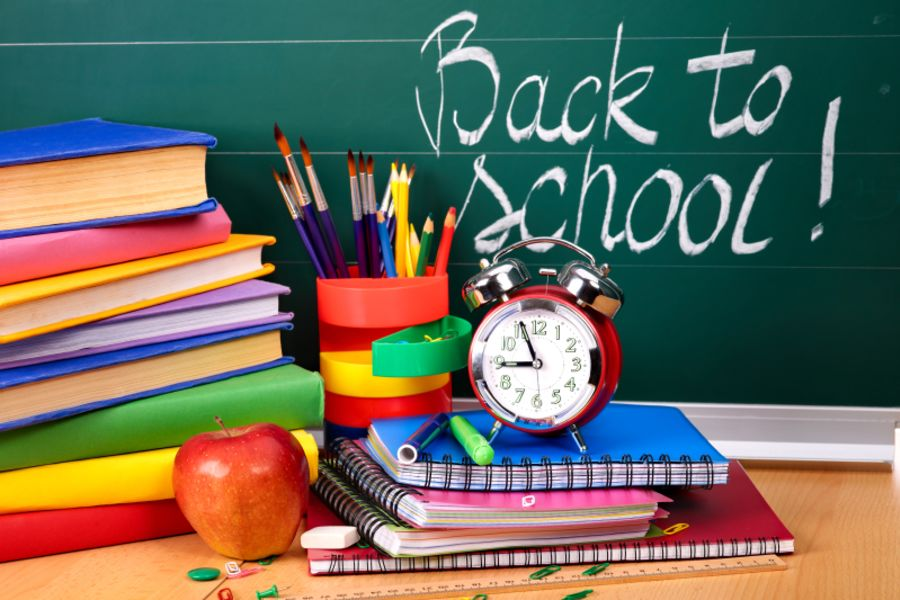 Back to School August 10, 2017