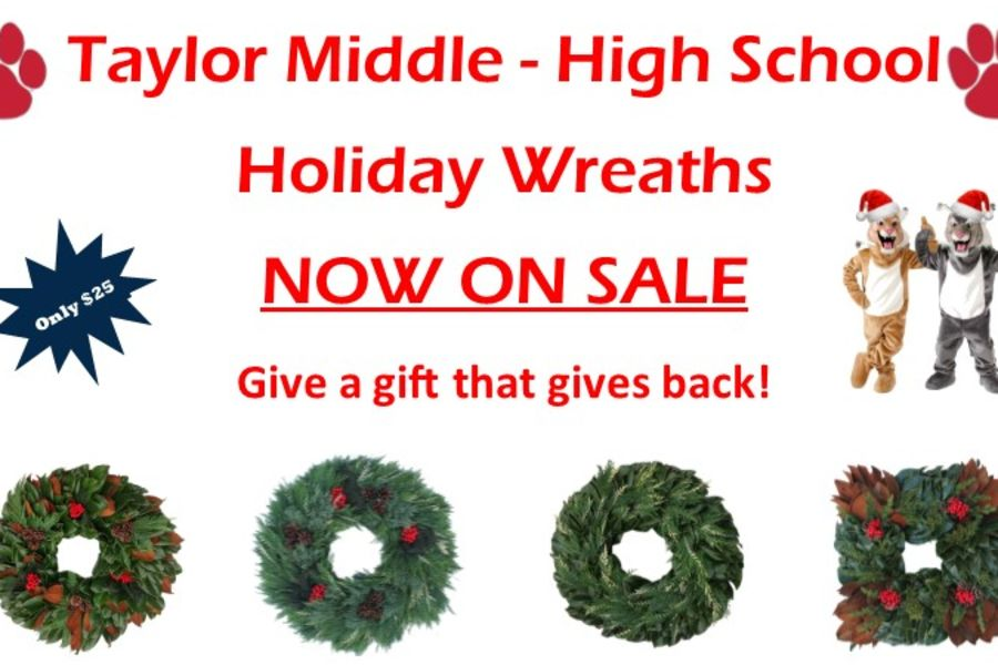 Holiday Wreaths-On Sale Now!