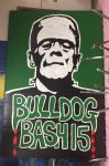 Bulldog Bash Prop Made by 2D Art students