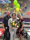 Suwannee Intermediate School Related Employee of the Year Crystal Gill.