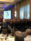 BES and SES students performing at the Florida School Boards Association Conference.