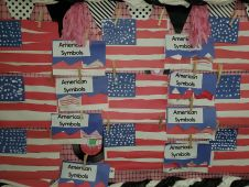 Kindergarten patriotic art