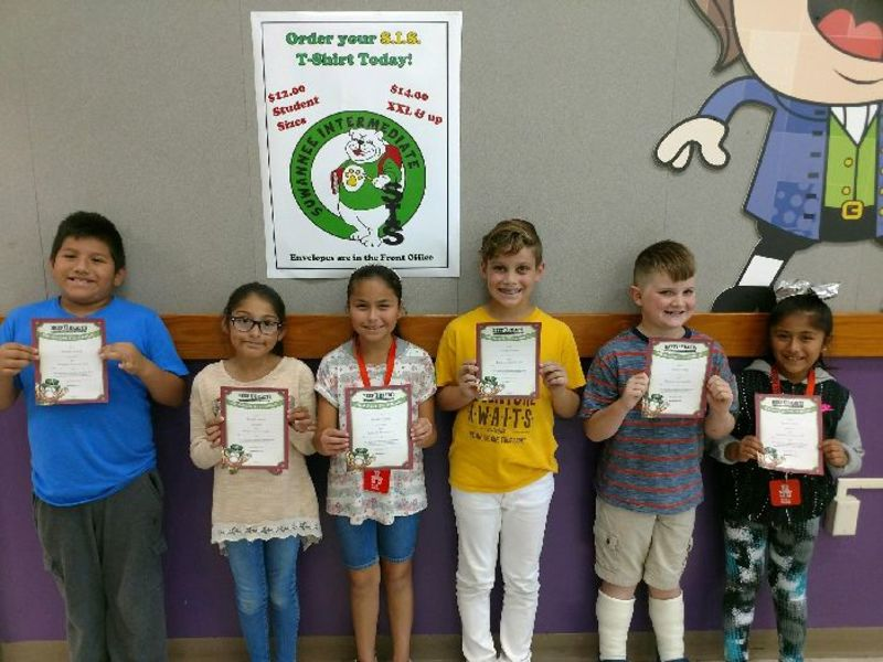 Sis Students Of The Week 1016 20 District News Suwannee