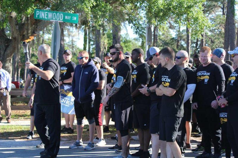 Suwannee Hosts Torch Run - District News - Suwannee County