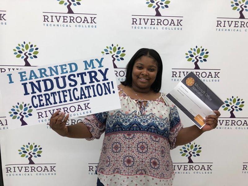 Riveroak Students Earn Industry Certifications School News