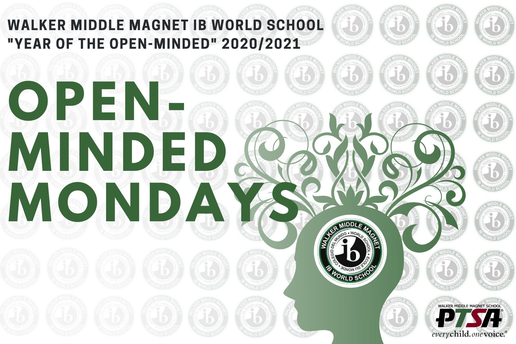 Open Minded Mondays - What does it mean to be open-minded? Part Two - Howler News - Walker PTSA