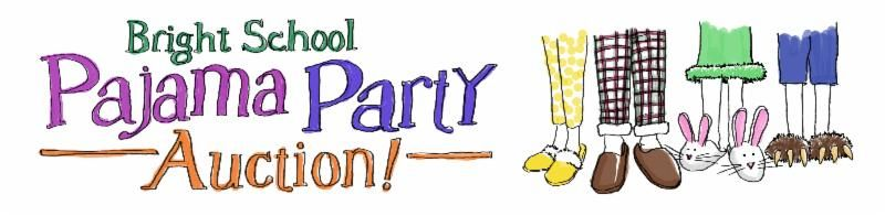 Pajama Party Auction logo