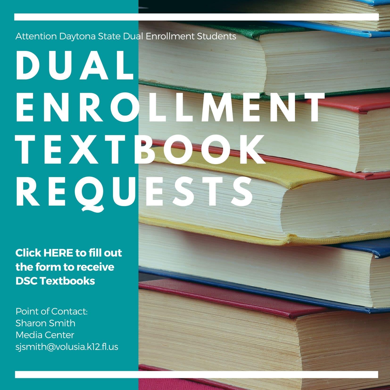 Dual Enrollment Book Requests