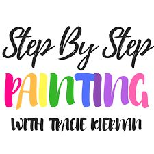Step by step painting for kids link