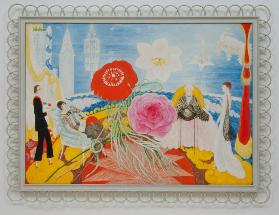 First Major New York Exhibition in Over 20 Years Devoted to American Painter Florine Stettheimer Opens at the Jewish Museum in May 2017
