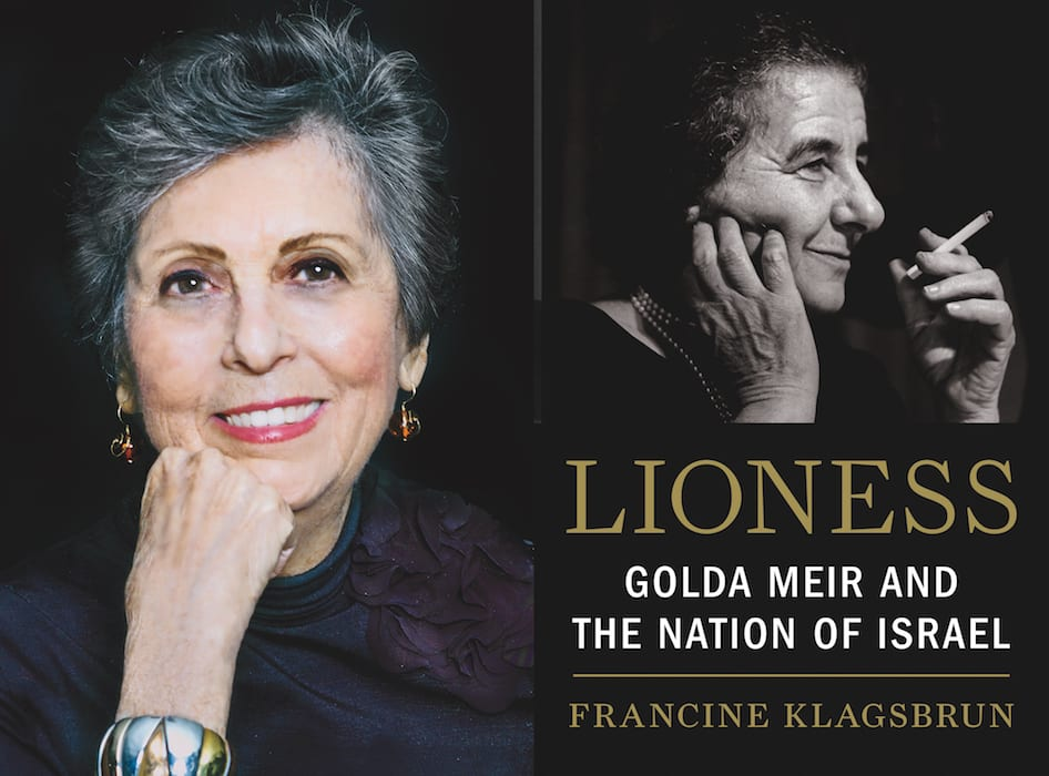 Author Francine Klagsbrun Speaks about Golda Meir October 19 at the Jewish Museum