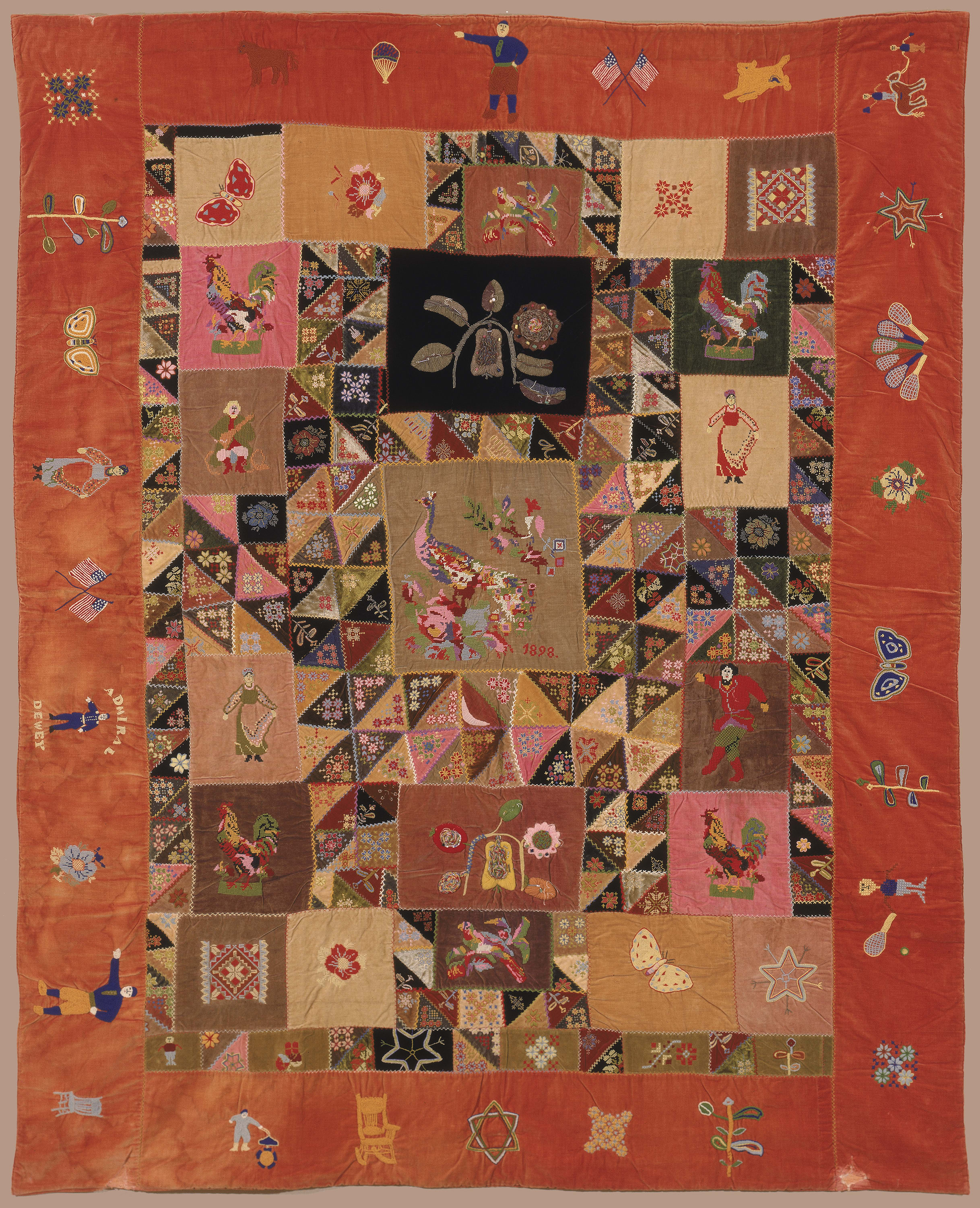 <i>Masterpieces & Curiosities: A Russian American Quilt</i> <br/>Opens August 22, 2014