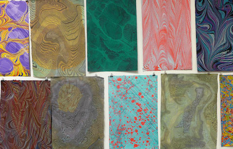 Marbling and Conceptual Paper