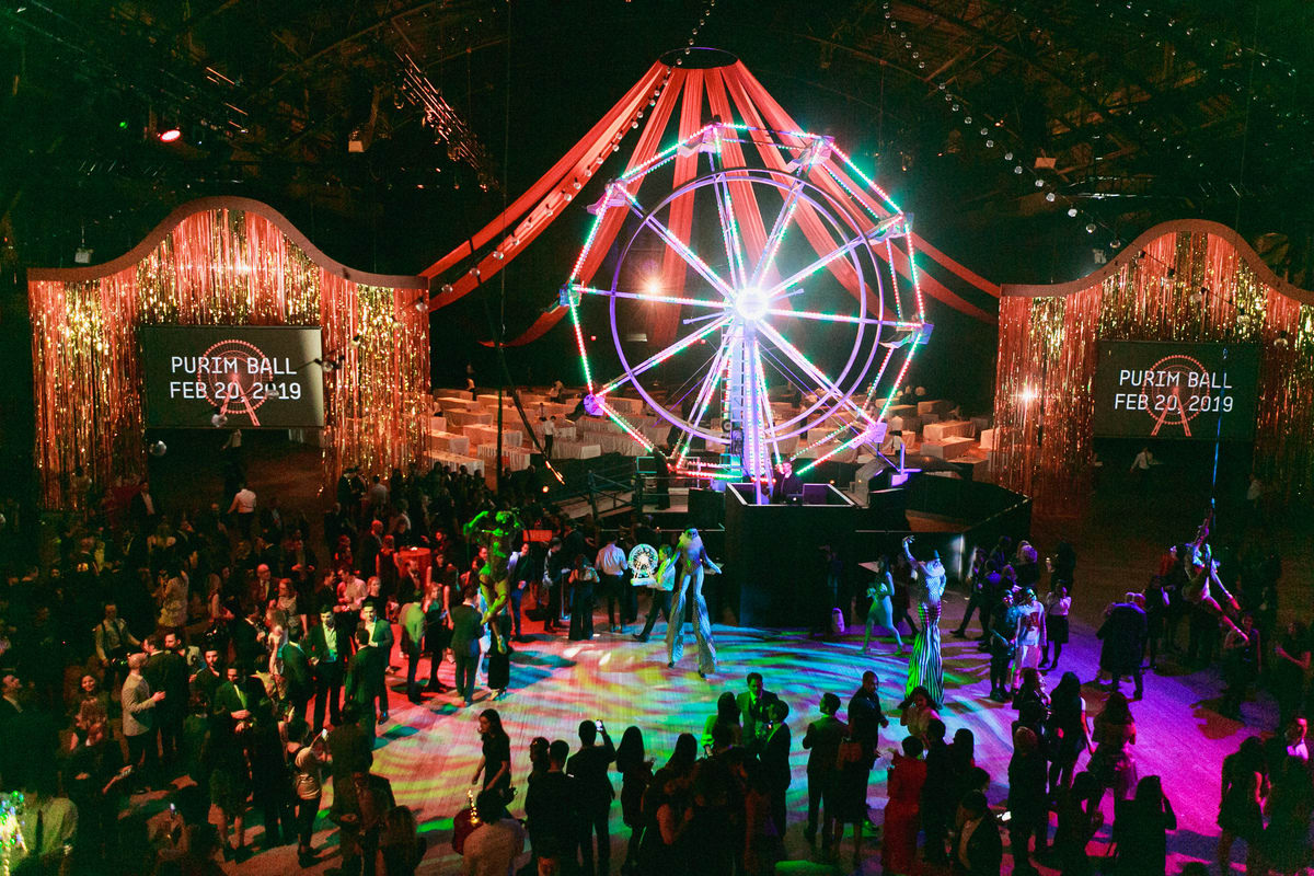 Carnival-Themed Purim Ball Raises a Record $3 Million for the Jewish Museum