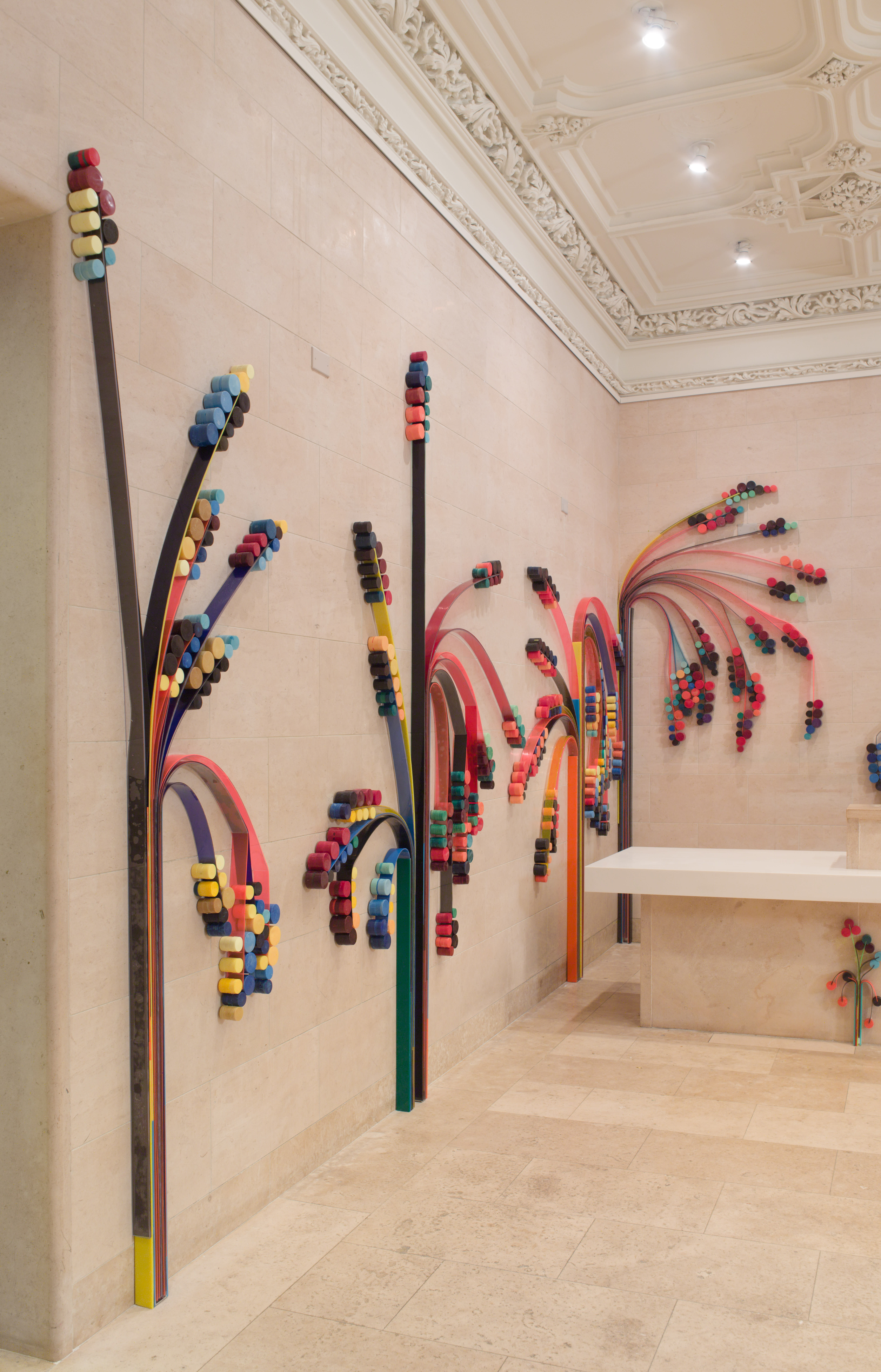 New Work by Sculptor Eva LeWitt On View at the Jewish Museum Beginning November 2