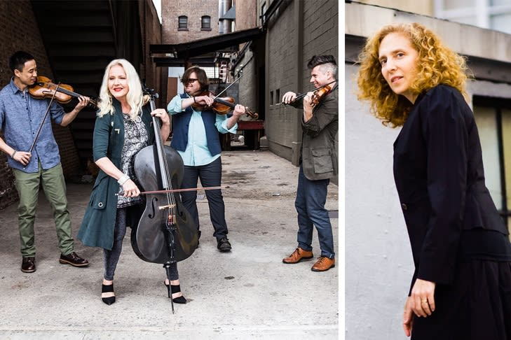The Jewish Museum and Bang on a Can Present ETHEL Performing the String Quartets of Julia Wolfe