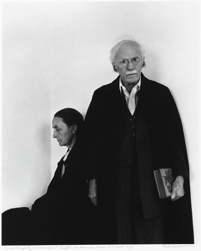 Georgia O'Keeffe in Hawaii: Alfred Stieglitz and Georgia O'Keeffe, An American Place, New York City, Jewish Museum, New York, NY, USA.
