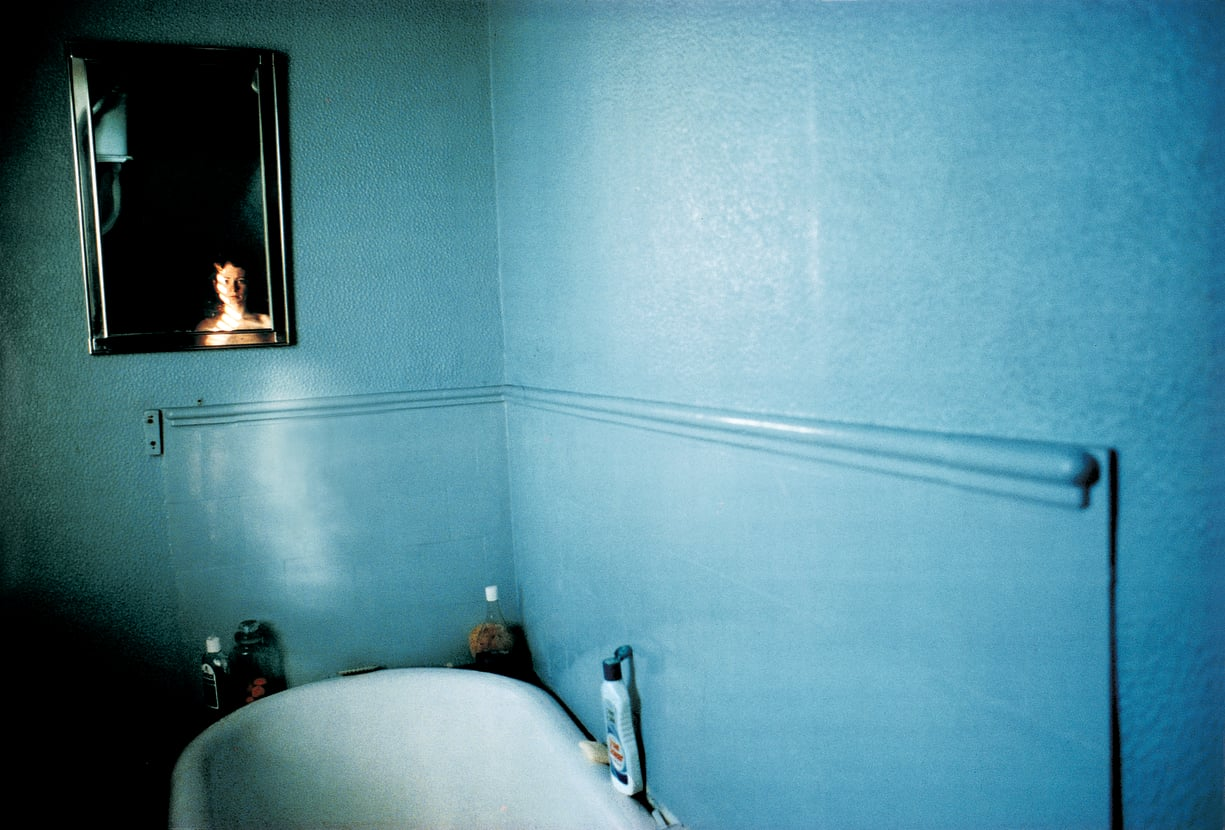The Jewish Museum - Collection - Self-Portrait in Blue Bathroom, London
