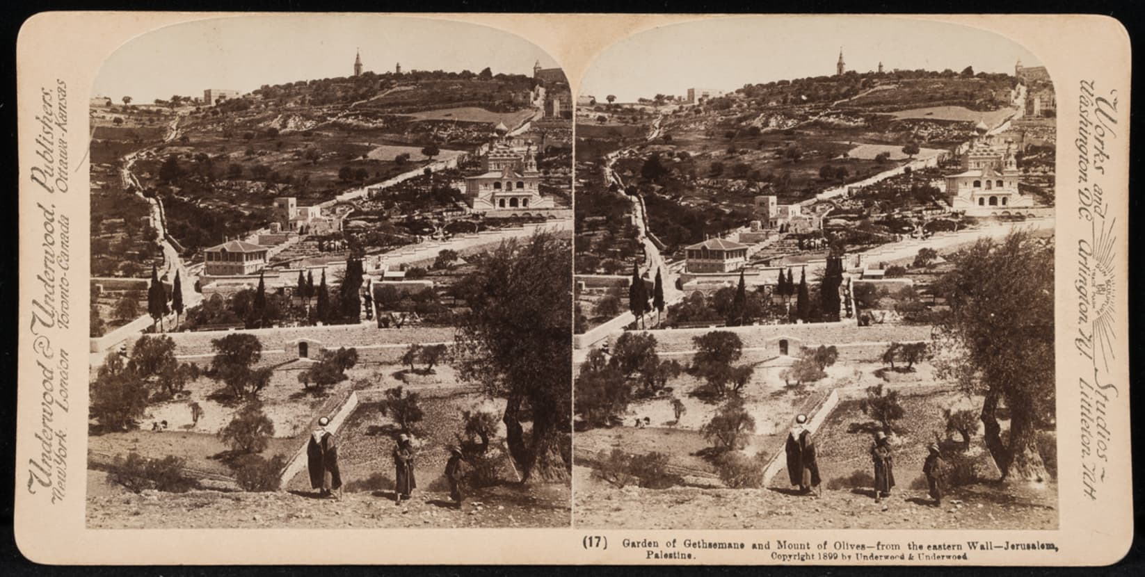 The Jewish Museum - Collection - Garden of Gethsemane and Mount of ...