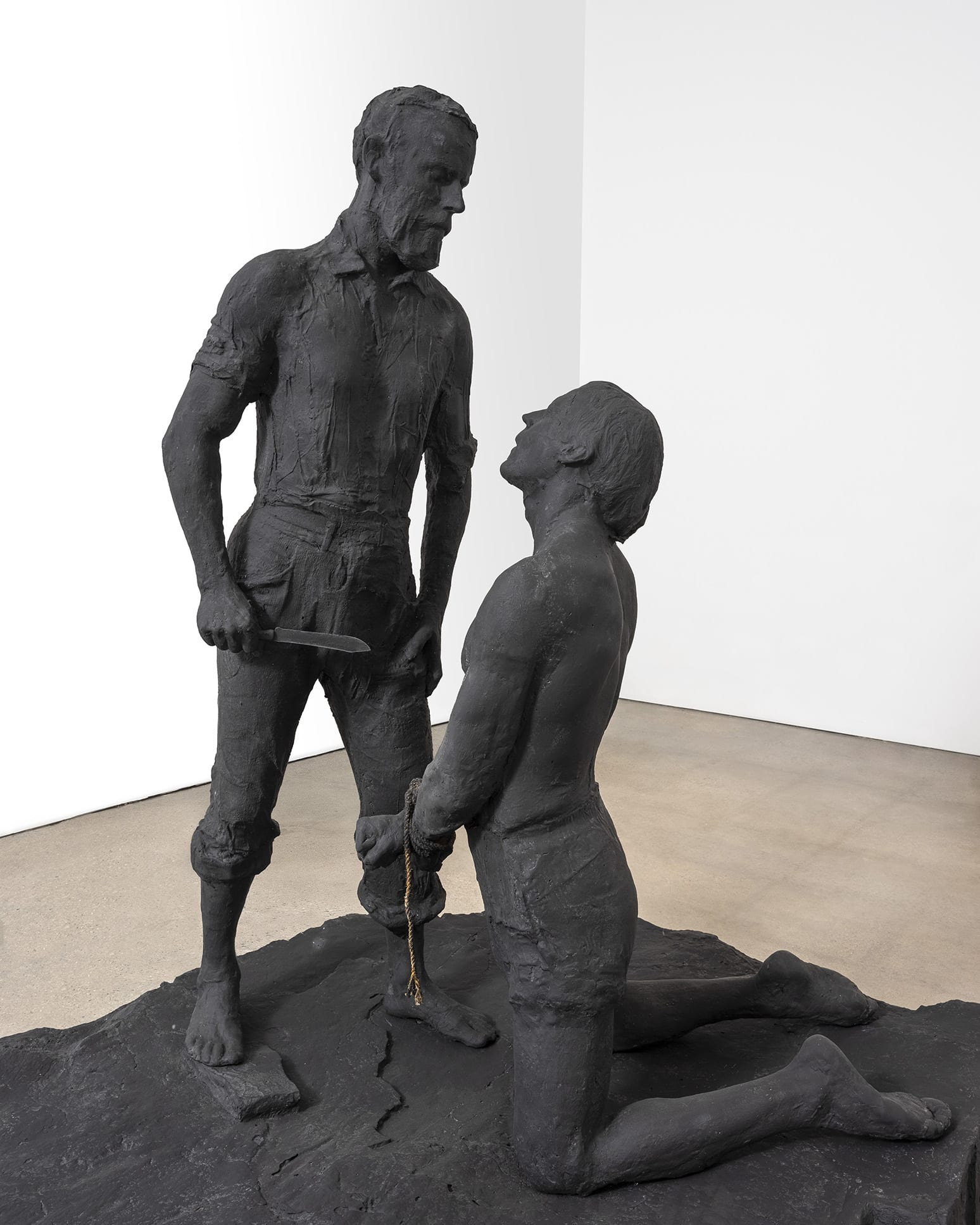 The Jewish Museum Presents George Segal's Monumental Sculpture Abraham and Isaac