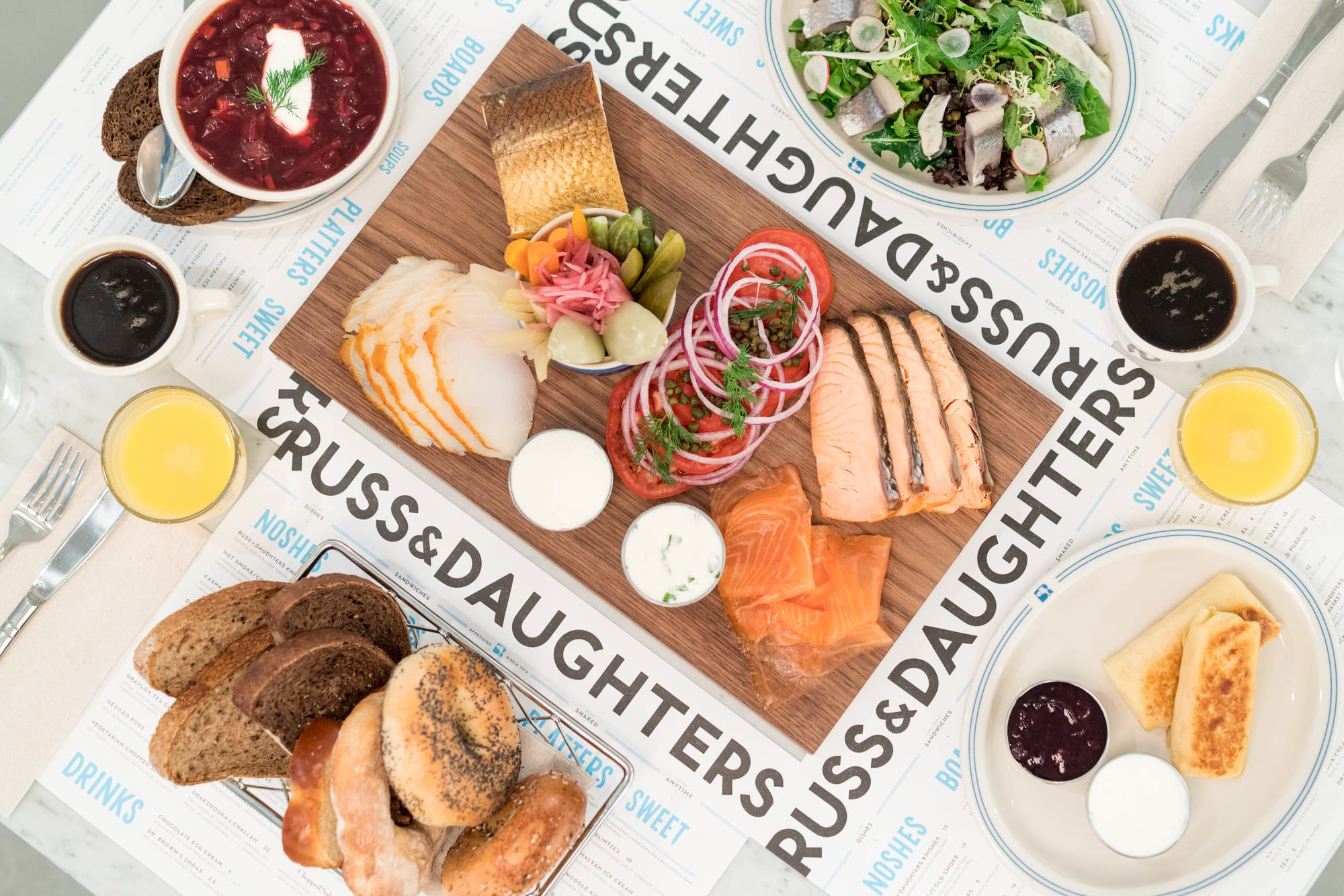 Russ & Daughters at the Jewish Museum Opens