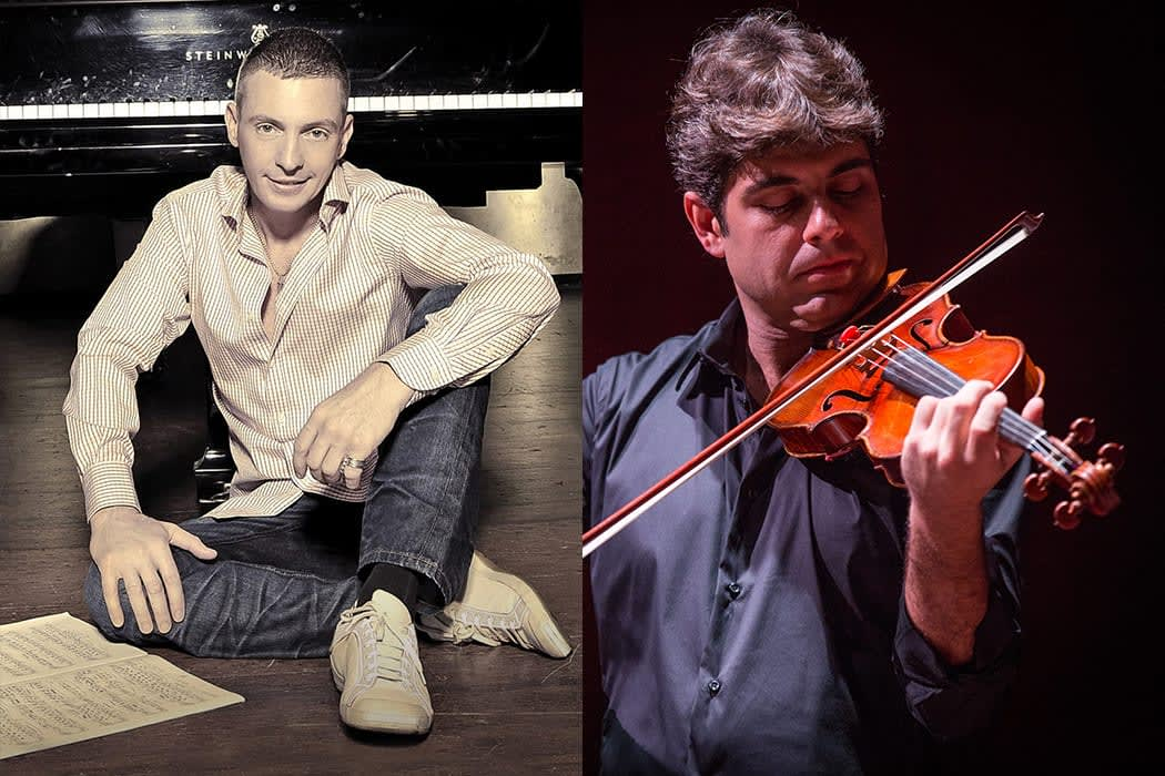 Israeli-American Pianist Daniel Gortler and Brazilian Violinist Daniel Guedes in Concert at the Jewish Museum May 16