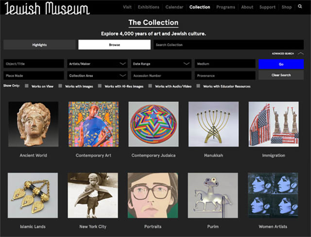 How the Jewish Museum Used Human-Centered Design to Rebuild Its Online Collection
